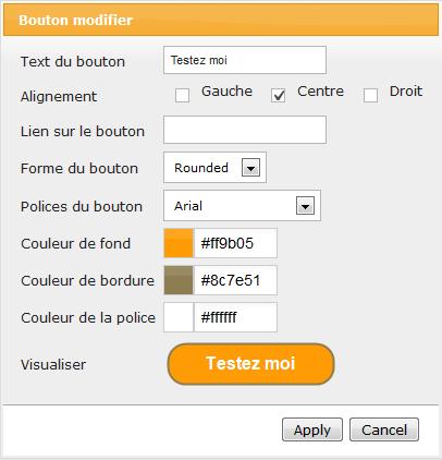 Create online button