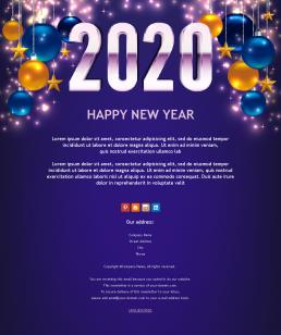99 Newsletter Templates for Happy New Year 2020 | Mailpro on new years graphic design, new years email template, new years calendar, new years flyer template, new year s newsletter, new years logo, new years menu template, new year s templates, new years powerpoint template, happy new year template, new years program template, new year newsletter examples, new years postcard template, new years hours template, new years poster template, chinese new year template, new years business,