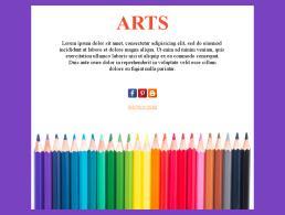 Art newsletter templates | templatemonster.