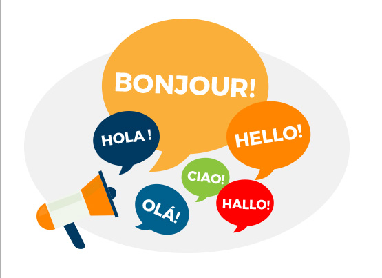 Mailpro is a Multilingual application