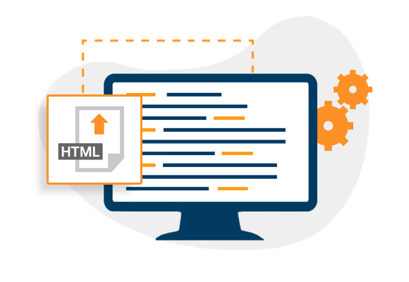 Importing an HTML file